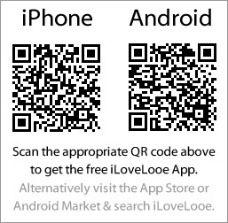 iphone and android QR codes